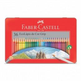 EcoLápis de Cor Grip 36 Cores Faber-Castell 121036LT