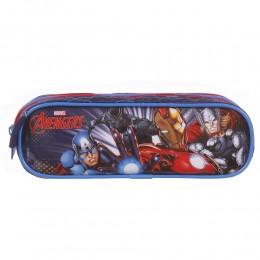 Estojo Escolar Duplo DMW Avengers Ref. 11592