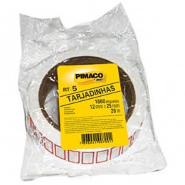 Etiqueta Adesiva Pimaco RT-5 - 12 mm x 25 mm