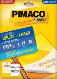 Etiqueta Inkjet/Laser Pimaco 6285 - 279,4 mm x 215,9 mm