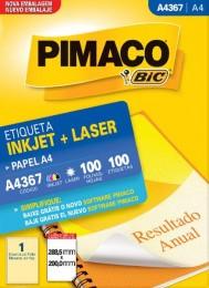 Etiqueta Inkjet/Laser Pimaco A4367- 288,5 mm x 200 mm