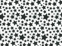 EVA Estampado 40x60 Poá Estrelas Pacote Com 5 folhas Ref.4946