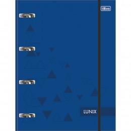 Fichário Universitário Tilibra Lunix Azul