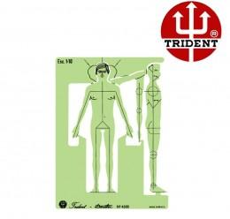 Gabarito Trident Desetec Mod. 4388