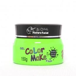 Gel Fluor Color Make 150g - Verde