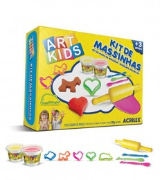 Kit de Massinhas Art Kids Acrilex 40003