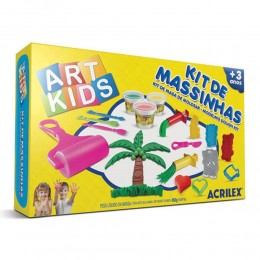 Kit de Massinhas Art Kids Acrilex 40005