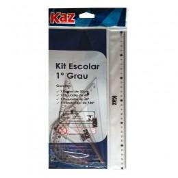 Kit Escolar 1° Grau Kaz Ref. KZ 4463