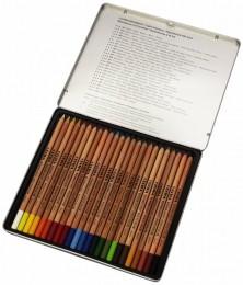 Lapis de cor Lyra Rembrandt Polycolor caixa c/24 cores