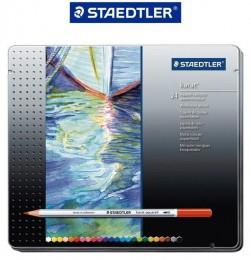 Lápis de Cor Staedtler Karat 24 Cores Aquarelável 125 M24