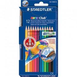 Lápis de Cor Staedtler Noris Club 12 Cores Aquarelável 144 10NC12