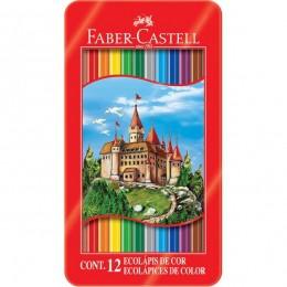 Lapis Faber-Castell Sextavado 12 EcoLápis de Cor 120112LT