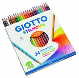 Lápis Giotto Stilnovo Aquarelável 24 Cores