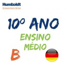 Lista da Primeira Série Ensino Médio B Alemão / 10. Schuljahr B