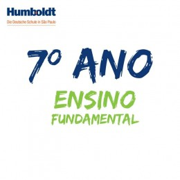 Lista do Sétimo Ano Ensino Fundamental ACD / 7. Schuljahr