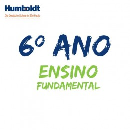 Lista do Sexto Ano Ensino Fundamental ACD / 6. Schuljahr