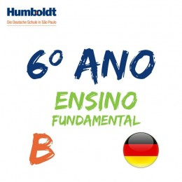 Lista do Sexto Ano Ensino Fundamental B Alemão / 6. Schuljahr B