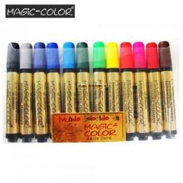 Marcador Magic-Color Série Ouro 12 Cores Sortidas 641-O