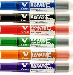 Marcador p/ Quadro Branco V Board Master Pilot® WBMA-VBM-M