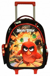 Mochila com carrinho Santino Angry Bird 800501