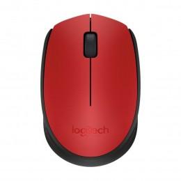 Mouse sem Fio Logitech M170 - Vermelha
