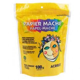 Papel Machê Acrilex 100 g - Ref. 01210
