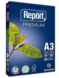 Papel Sulfite Report - A3 - 75g Pct - 500fls
