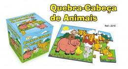 Quebra-Cabeça Animais Carimbras Ref. 2310
