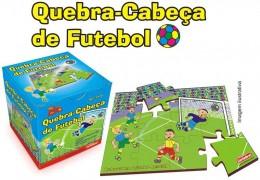 Quebra-Cabeça de Futebol Carimbras Ref. 2320