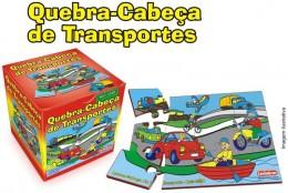 Quebra-Cabeça de Transportes Carimbras Ref. 2330
