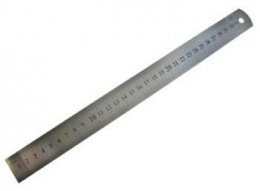 Régua de Aço 30cm
