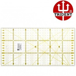 Régua Quadriculada para Patchwork Trident 300 x 150