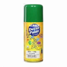 Tinta em Spray Decor Acrilex 150 ml  - Verde