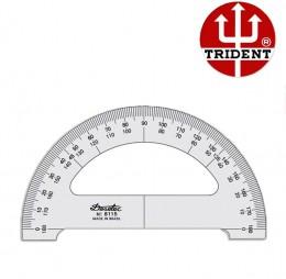 Transferidor de Acrílico Trident 180°/15 cm 8115