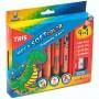 Mega Soft Color Tris Gigante 4 em 1