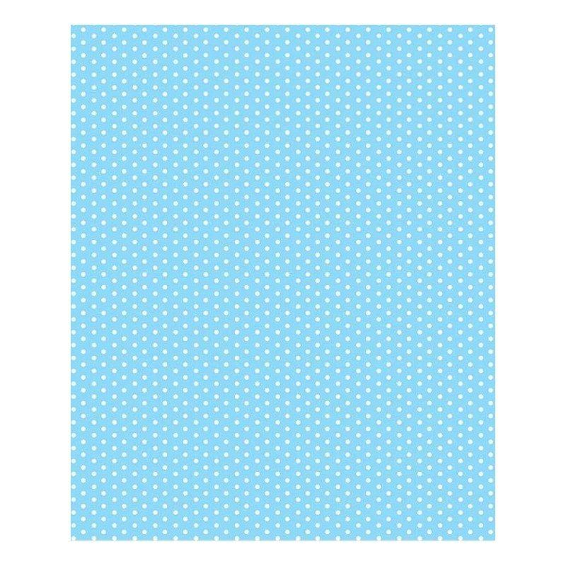 Autoadesivo Plastcover Poa Azul Bebe 45cmX10mts