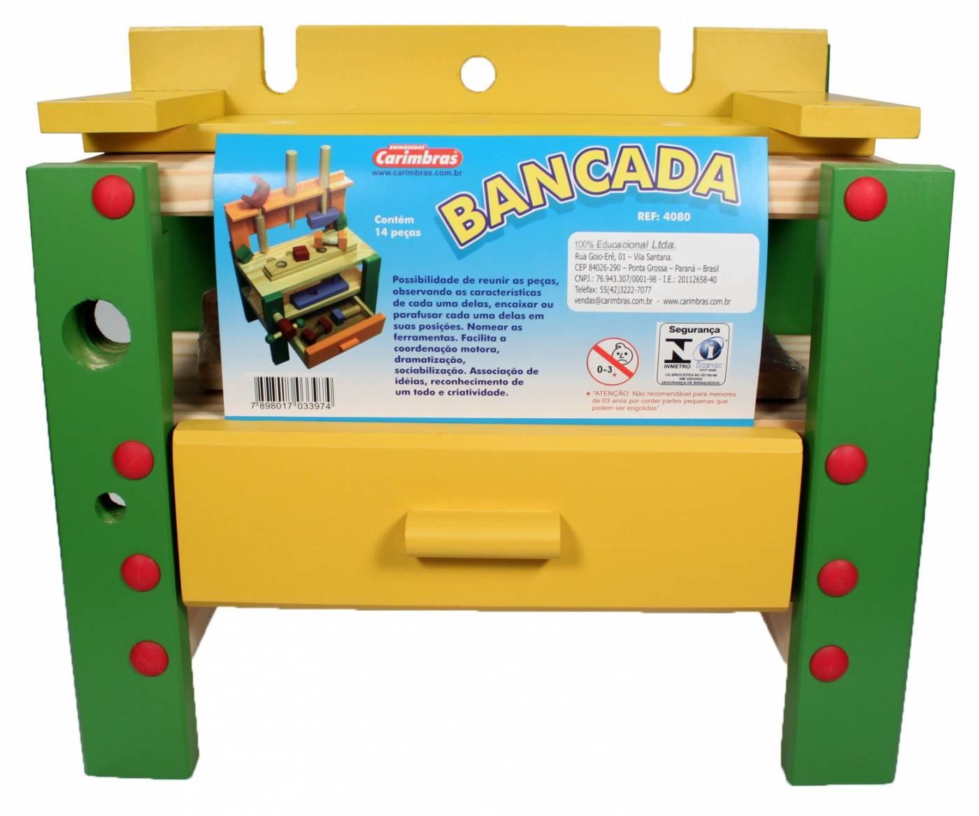 Bancada Carimbras Ref. 4080