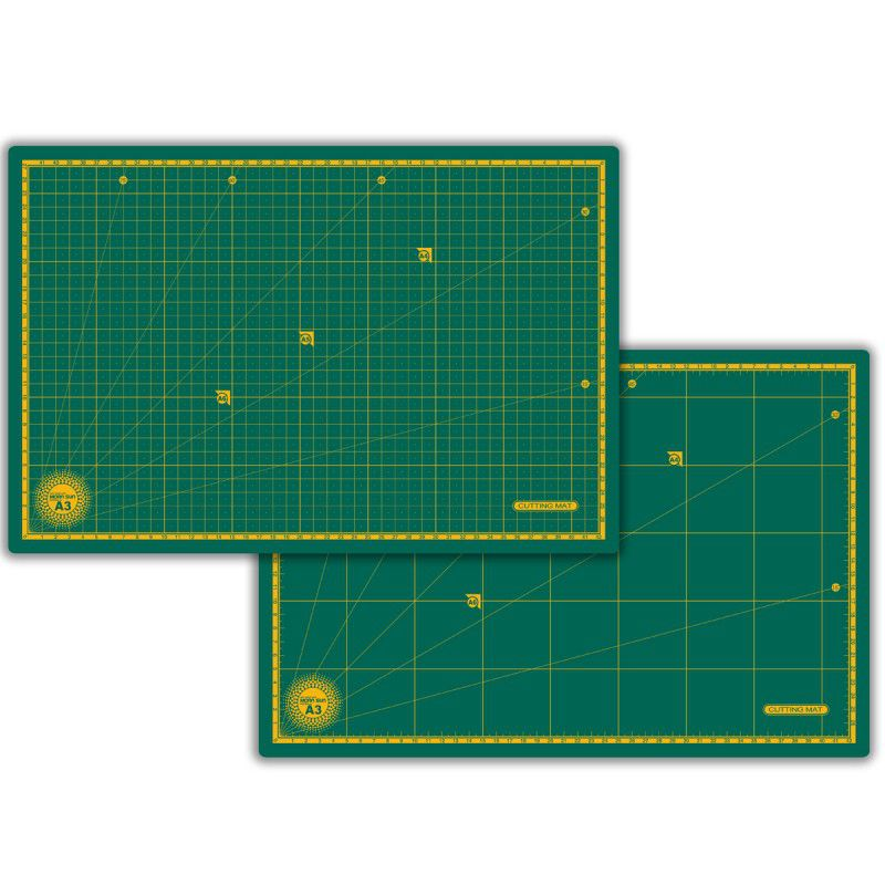 Base De Corte Morn Sun A4 - 30 x 22 cm Verde