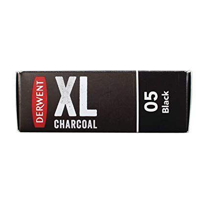 Bloco Carvão Vegetal Derwent XL Charcoal 05 - Black