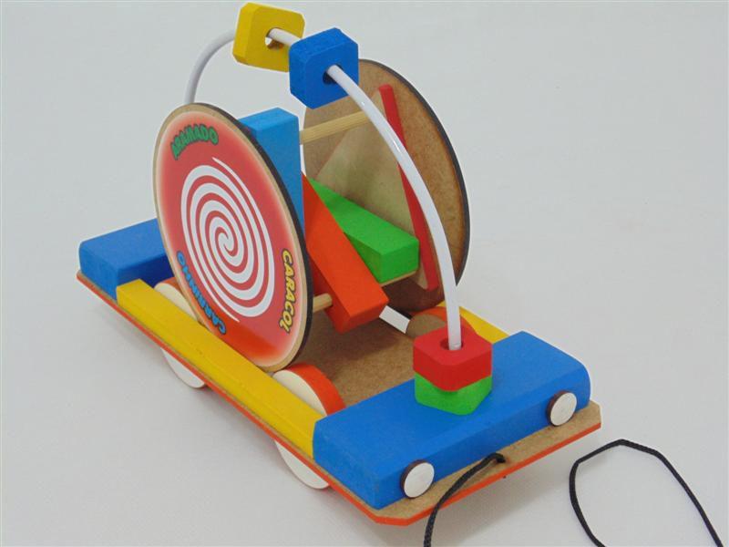 Brinquedo Educativo Gui Gui CAMINHÃO ARAMADO CARACOL M-35