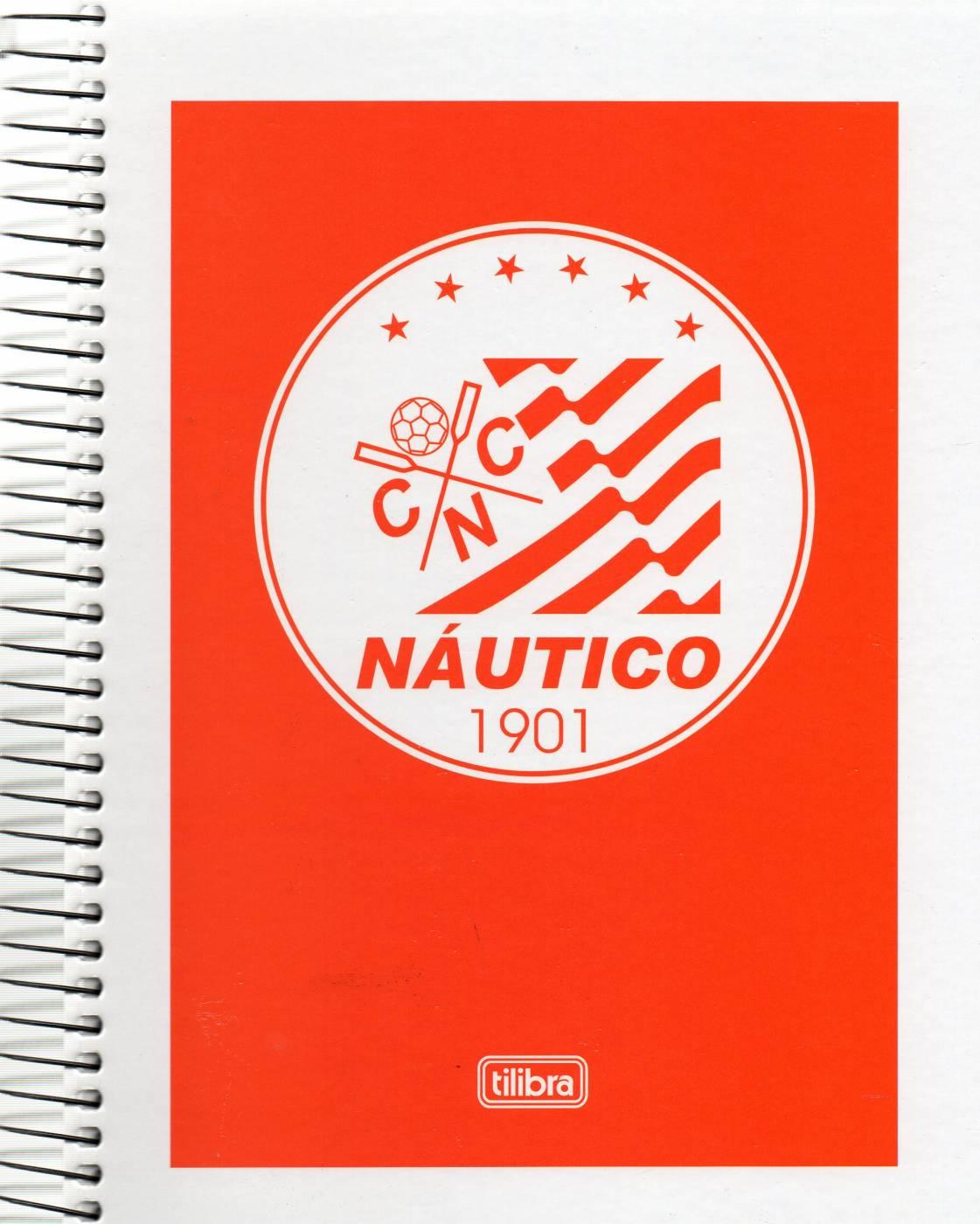Caderno Univ Tilibra Náutico 200 Folhas 10 Matérias
