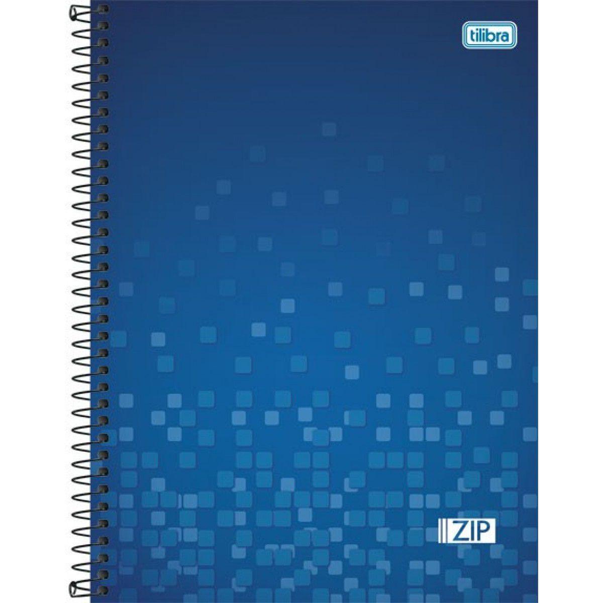 Caderno Univ Zip 200 folhas10 Matérias Tilibra