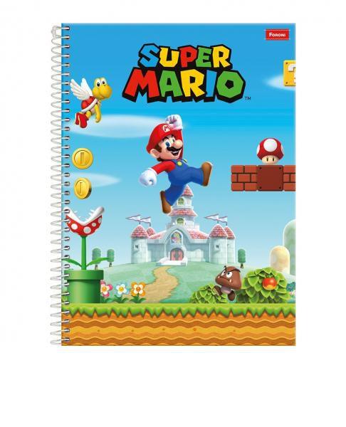 Caderno Universitário Super Mario Foroni 96 fls (copia)