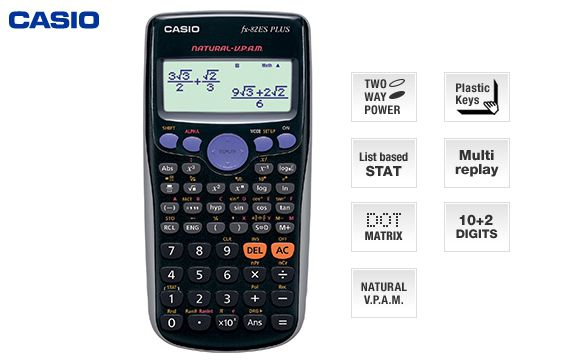 Calculadora Científica Casio fx-82ESPlus