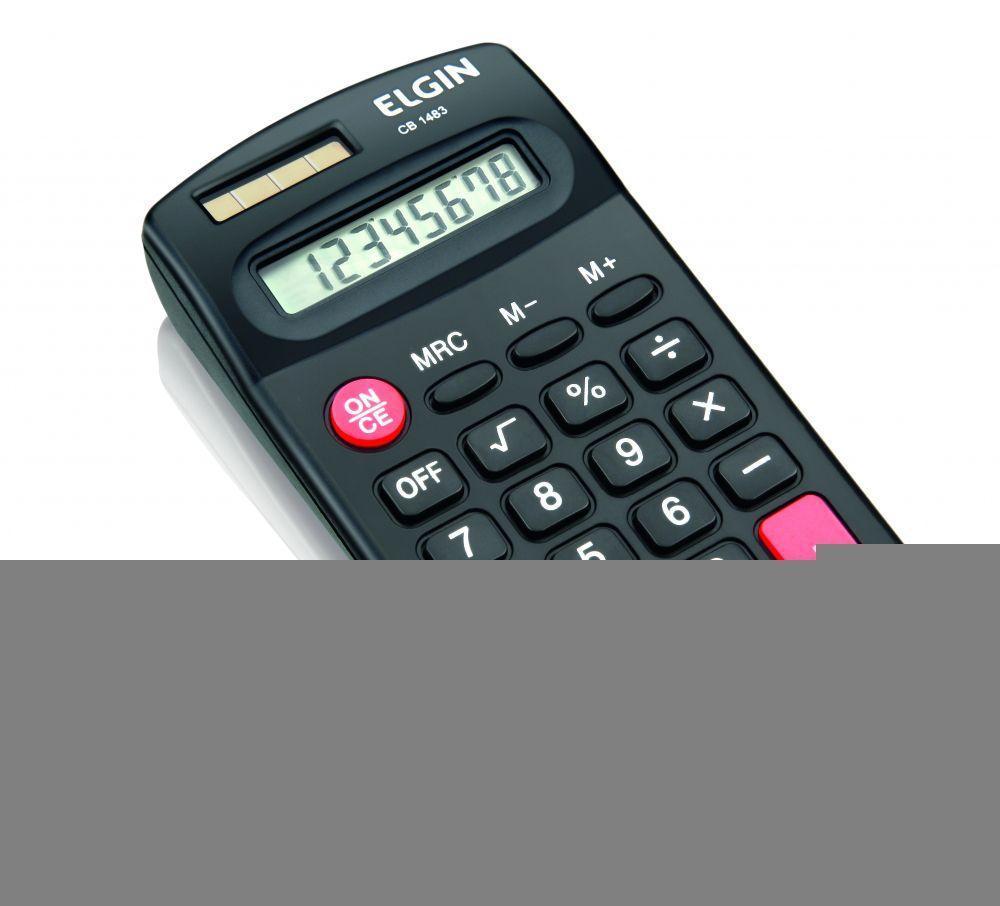Calculadora Eletrônica de Bolso Elgin CB 1483