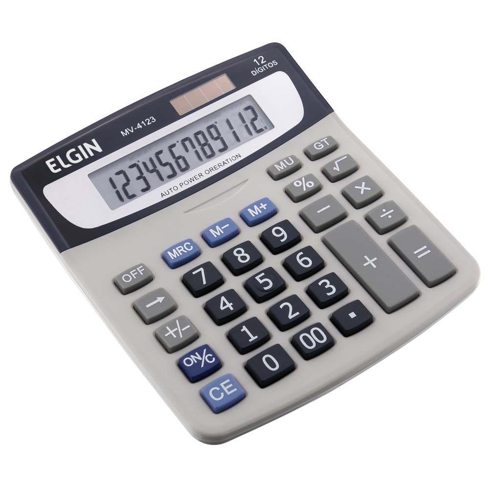 Calculadora Eletrônica de Mesa Elgin MV 4123