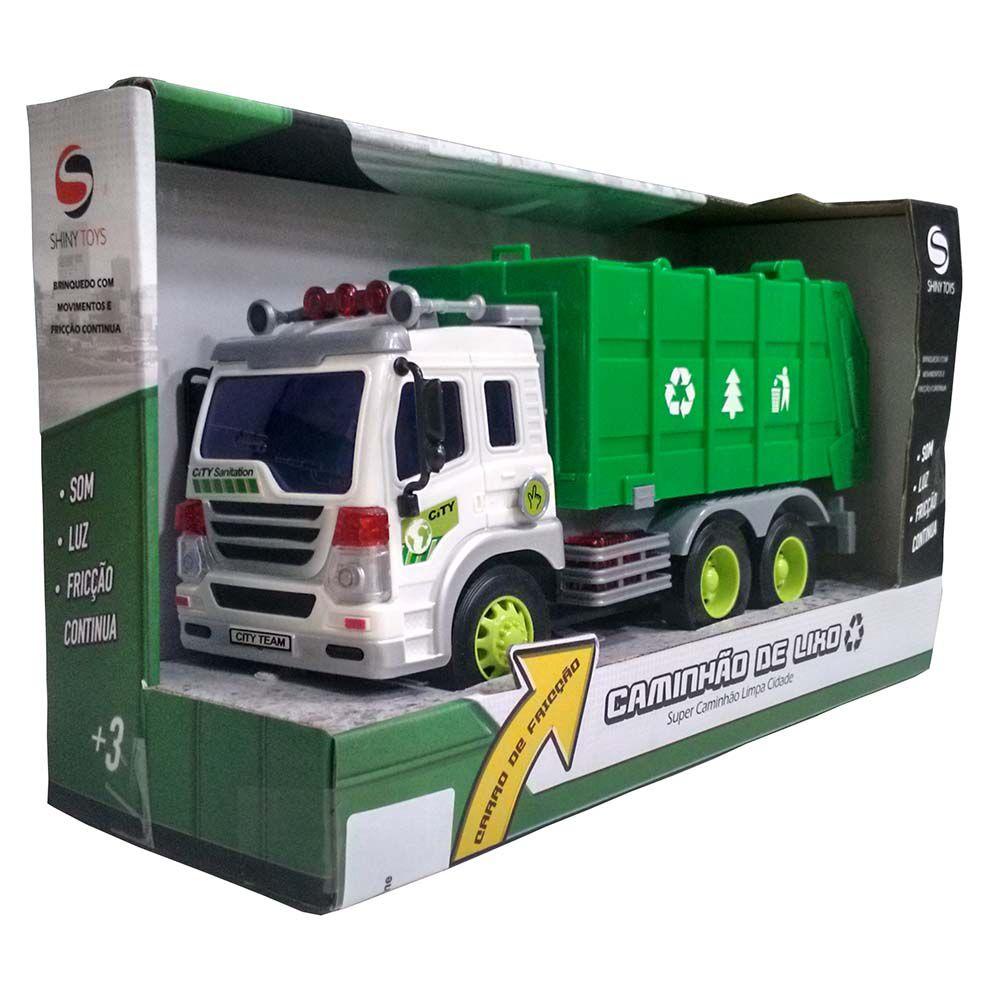 Caminhão de Lixo Shiny Toys 307S