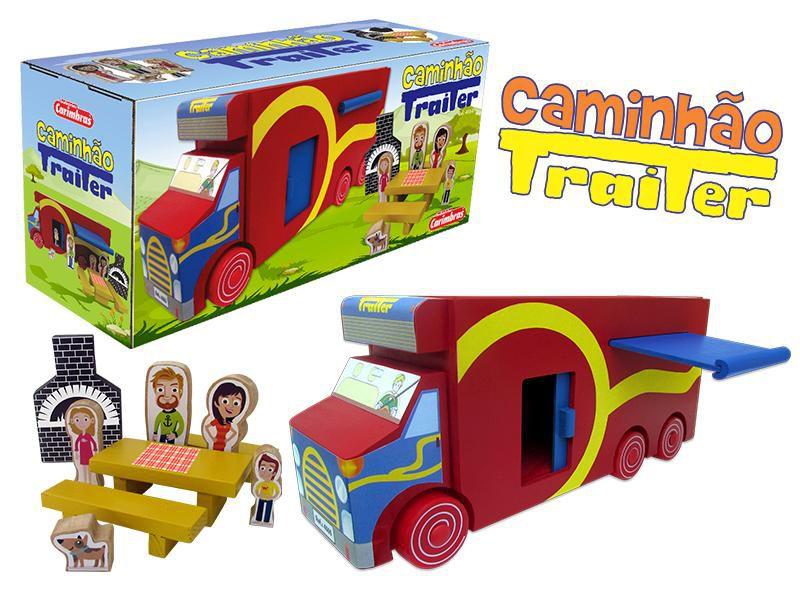 Caminhão Trailer Carimbras Ref. 4555