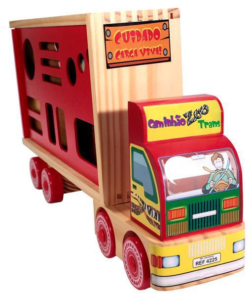 Caminhão Zoo Trans Carimbras Ref. 4225