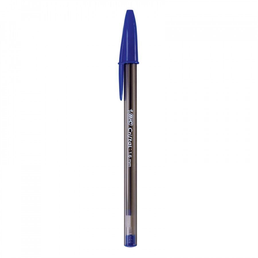Caneta Bic Cristal Bold 1,6 mm Cx c/ 25 - Azul